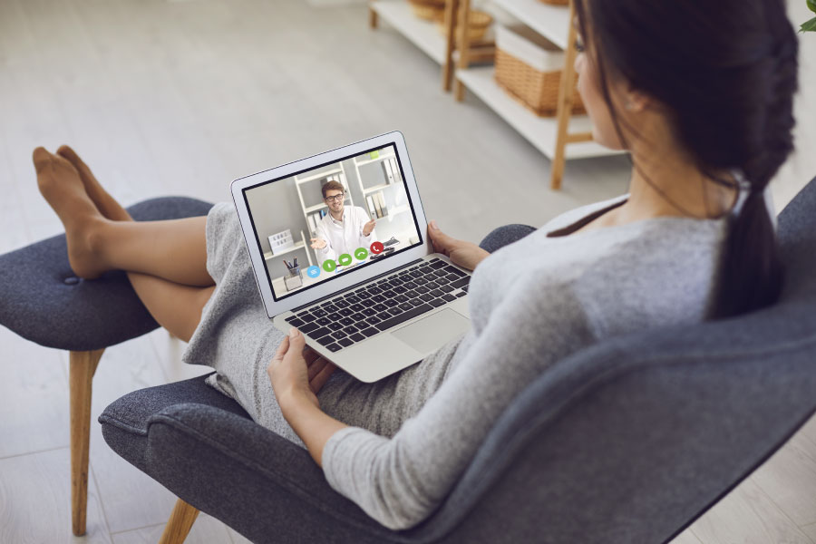 Adult Individual Therapy with Telehealth