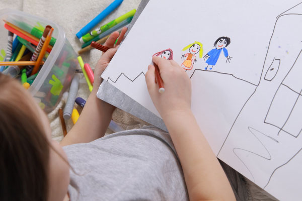 Drawing as Art Therapy for Children